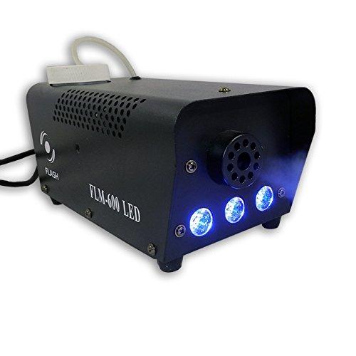 Flash FLM-600Macchina del fumo LED blu