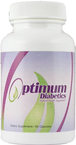 Optimum Diabetics Natural Diabetes Health Supplement - Herbal Support for Diabetic Health Formula ~ 6 Bottles