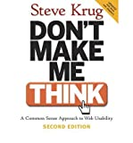img - for [(Don't Make Me Think!: A Common Sense Approach to Web Usability )] [Author: Steve Krug] [Sep-2005] book / textbook / text book