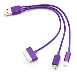 3 in 1 Charging USB Cable