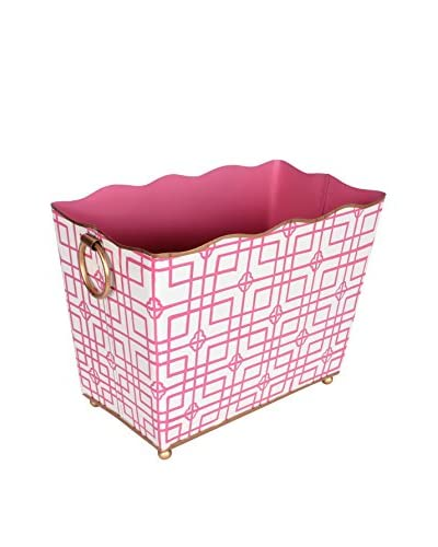 Jayes Isabelle Rectangular Magazine Holder, Pink As You See