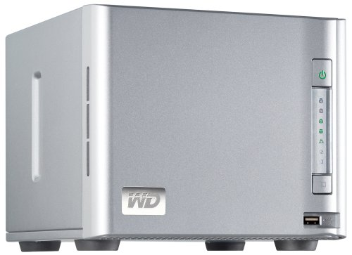 Western Digital ShareSpace 8 TB 4-bay Gigabit Ethernet Network Attached Storage