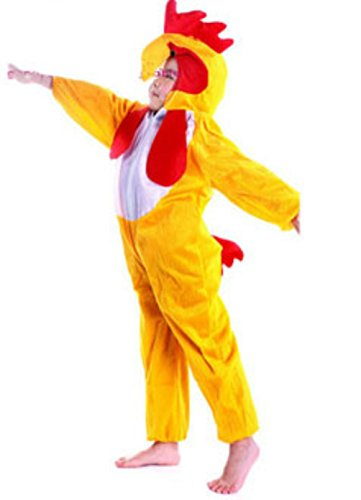 Anime Animal Kids Boys And Girls Pajamas Yellow Chicken