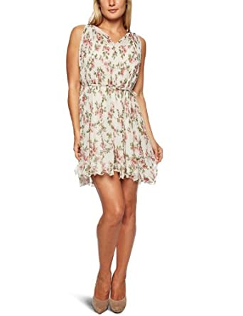 Mina  Cyndey Strappy Women's Dress Beige One