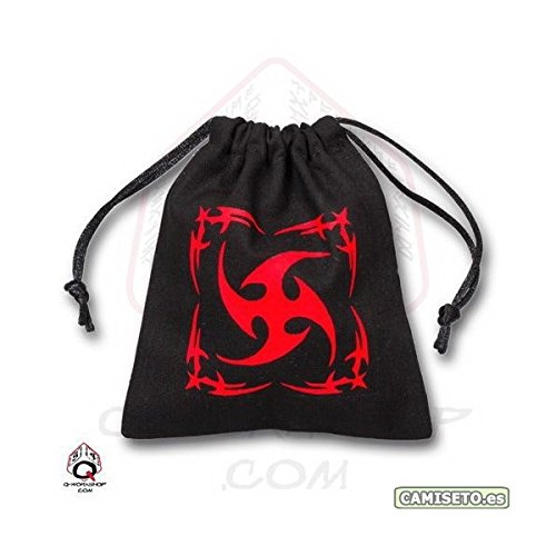Q-Workshop BTRI101 Black Tribal Dice Bag