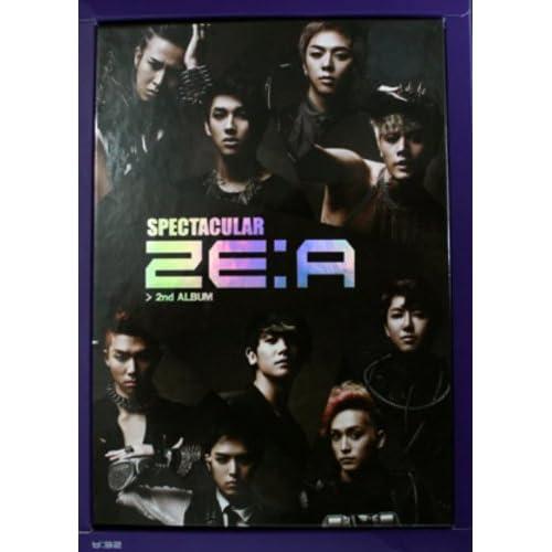 ZE:A 2集 - Spectacular (通常版) (韓国盤)をAmazonでチェック!