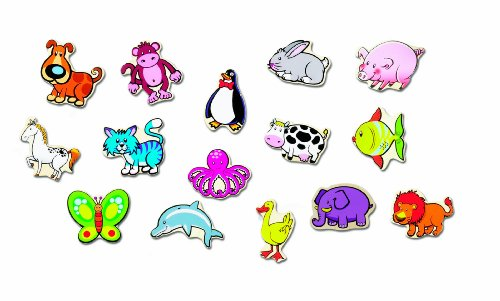 Small World Toys Ryan'S Room - Stick Em Magnets - Animals front-582236