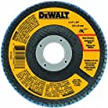 DEWALT DWA8202 60 Grit Zirconia T29 Flap Disc, 4-Inch X 5/8-Inch