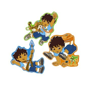 Go Diego, Go! 24in Dangling Cutouts 3ct