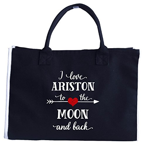 i-love-ariston-to-the-moon-and-backgift-for-girlfriend-fashion-tote-bag