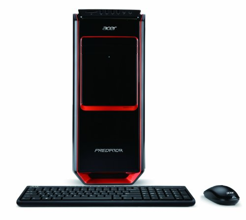 Acer Predator AG3-605-UR1C Desktop (3.1 GHz Intel Core i5-4440 Processor, 8GB DDR3, 1TB HDD, NVIDIA GeForce GTX 645, Windows 8.1) Black