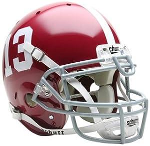 Schutt Sports Alabama Crimson Tide NCAA Authentic Full Size Helmet by Schutt