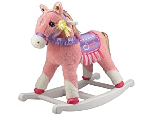 Tek Nek Rockin' Rider Dreamer the Deluxe, Animated Rocking Horse with Sounds