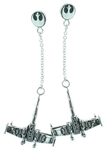 Officially Licensed Star Wars X-Wing Dangle Earrings
