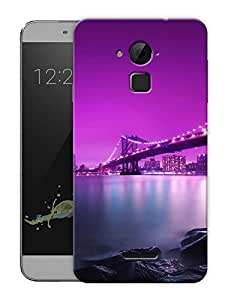"""Humor Gang New York Bridge At Night Printed Designer Mobile Back Cover For """"Coolpad Note 3"""" (3D, Matte, Premium Quality Snap On Case)"""