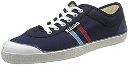 Kawasaki Retro Seasonal, Baskets mode homme - Bleu (Dark Navy/Red/Light Blue Stripes), 44 EU