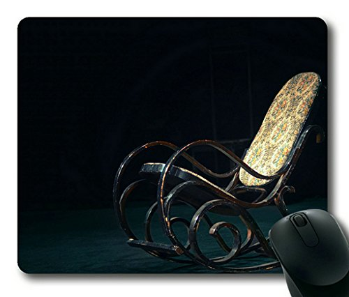 Retro Rocking Chair Rectangle Mouse Pad By Sakuraelieechyan