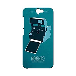 BLUEDIO Designer Printed Back case cover for HTC One A9 - G2987