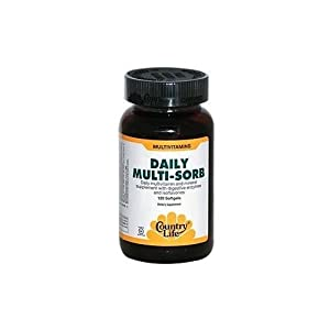 Country Life - Daily Multi-Sorb - 120 Softgel