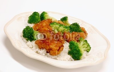 """Wallmonkeys Peel and Stick Wall Decals - General Tso's Chicken - 24""""W x 15""""H Removable Graphic"""