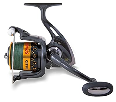 Lineaeffe Braid Spin FD40 Sea Reel with Green Braid by Lineaeffe