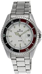 Maxima Attivo Analog White Dial Mens Watch - 00455CMGI