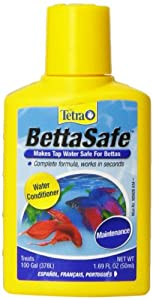 Tetra 16837 BettaSafe Water Conditioner, 1.69-Ounce, 50-Ml