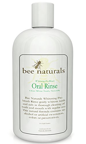 Best Whitening Pre-brush Oral Rinse - Clean White Teeth Naturally - Includes Xylitol - Beautiful Smile & Fresh Breath (Natural Whitening compare prices)