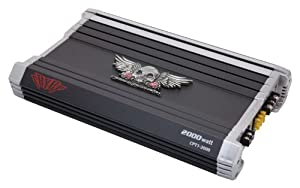 Power Acoustik Crypt CPT1-2000 Monoblock 2,000-Watt Amplifier