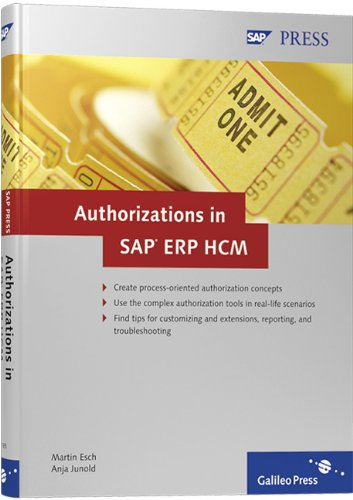 Authorizations in SAP ERP HCM: Design, Implementation, Operation PDF