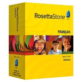 Rosetta Stone French Level 1,2,3,4,5 Set + Audio Companion