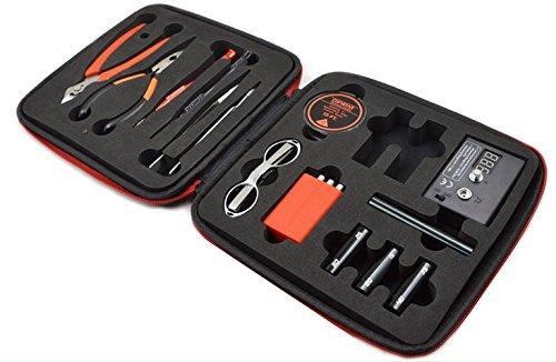 COIL MASTER 2 Werkzeugset mit Kanthel Draht für E-Zigarette Selbstwickler
