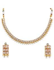 Bhagwathi Antique Necklace Set (BGPS0010) - B00V3E9KMG