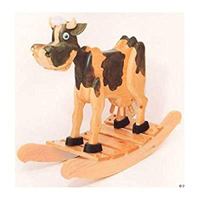 Woodworking Project Paper Plan to Build Bessie Cow Rocker by Woodcraft Supply