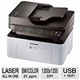 Samsung SL-M2070FW/XAA Wireless Monochrome Printer with Scanner, Copier and Fax