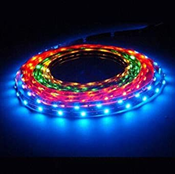LEDwholesalers RGB Color Changing Magic LED Strip Waterproof LED with Controller and Power Supply, 2054RGB