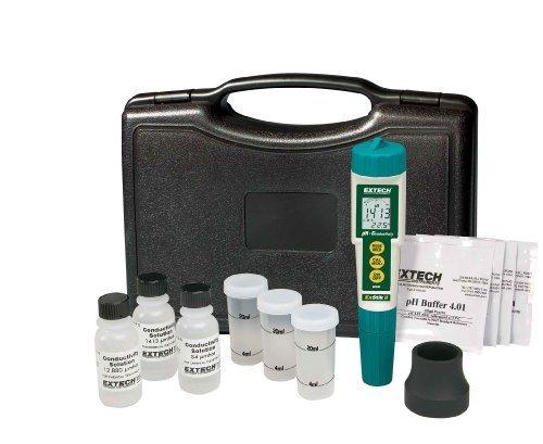 Extech EC510 Waterproof ExStik II pH/Conductivity Meter Kit by Extech