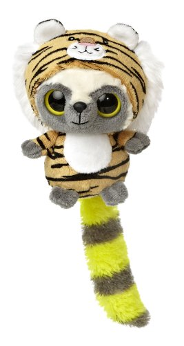 "Aurora World YooHoo & Friends Wanna Be Tiger Plush, 5"" Tall"