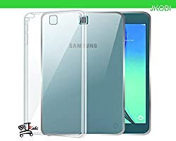 Jkobi Exclusive Soft Silicone TPU Jelly Crystal Clear Case Soft Back Case Cover For Samsung Galaxy Tab A 9.7 Inch T550 -Transparent