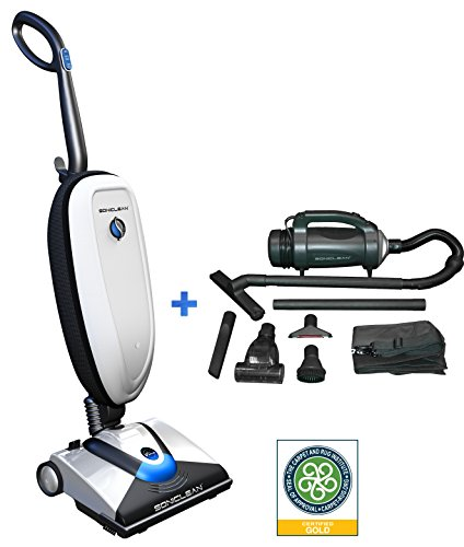 Soniclean VTplus/Handheld Combo: The First and Only Vacuum Cleaner To Use Sonic Cleaning Technology