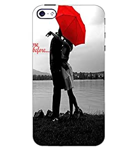APPLE IPHONE 4S LOVE COUPLE Back Cover by PRINTSWAG
