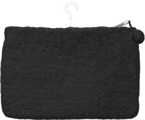 Dimensions Feltworks Mini Purse, 6 by 4 by 1/2-Inch, Black