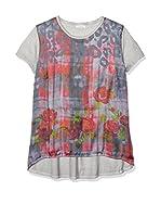 FROGBOX Camiseta Manga Corta (Multicolor)