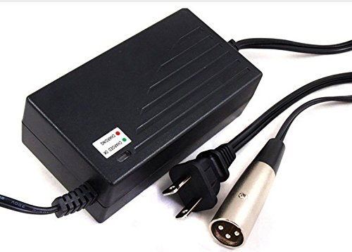 LotFancy 36V 1.5A 1500mA Electric Bike Motor Scooter Battery Charger Power Supply Adapter For Razor MX500 Dirt Rocket Schwinn ST1000 X-Treme X-600 Mongoose M750 IZIP I750 IZIP I600 GT GT750 (Bicycle Battery compare prices)