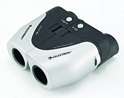 CELESTRON ELECTRIC POWER ZOOM BINOCULARS 8-24X25 MODEL 72121