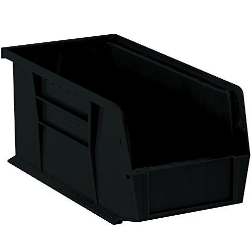 Aviditi BINP1155K Plastic Stack and Hang Bin Boxes, 10 7/8