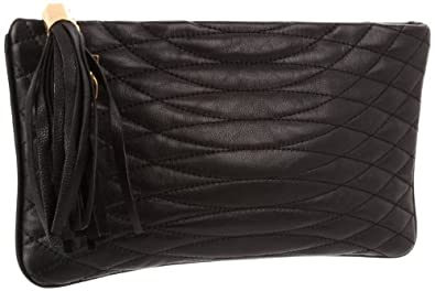 BCBG Ana NZZ176LE Clutch,Black,One Size