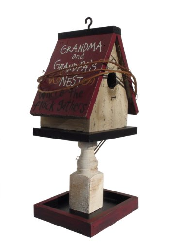 Ohio Wholesale Grandparents Birdhouse Feeder, from our Grandma-pa Collection