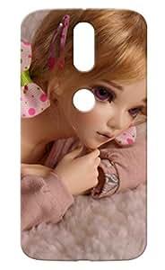 STYLE SPOT Motorola Moto G4 Plus DESIGNER PRINTED BACK COVER(GIRLS Printed)