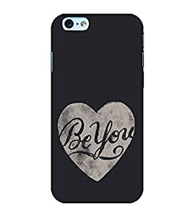 Be You 3D Hard Polycarbonate Designer Back Case Cover for Apple iPhone 6s Plus :: Apple iPhone 6s+